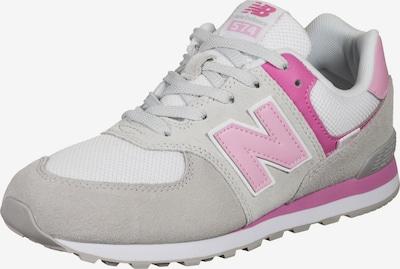 new balance Sneaker in hellgrau / pink / rosa, Produktansicht
