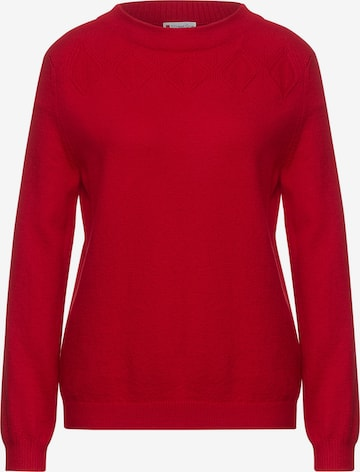 STREET ONE Sweater in Red
