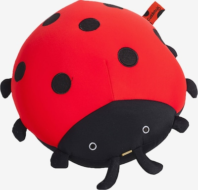 CuddleBug Reisekissen 'Pluche Travel pillow Lady Bug' in rot, Produktansicht