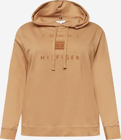 Tommy Hilfiger Curve Sweat-shirt en beige, Vue avec produit