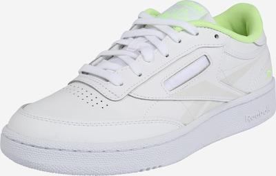 Reebok Classic Sneaker in neongrün / weiß, Produktansicht