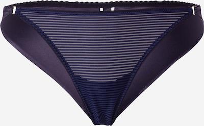 Icone Lingerie Slip 'VELA' in navy / dunkelgrau, Produktansicht