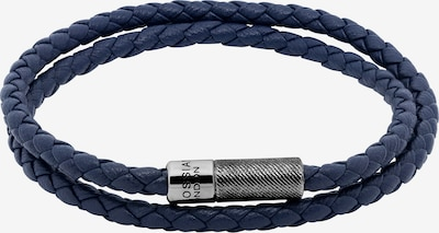 Tateossian London Armband 'Rigato Pop' in marine, Produktansicht
