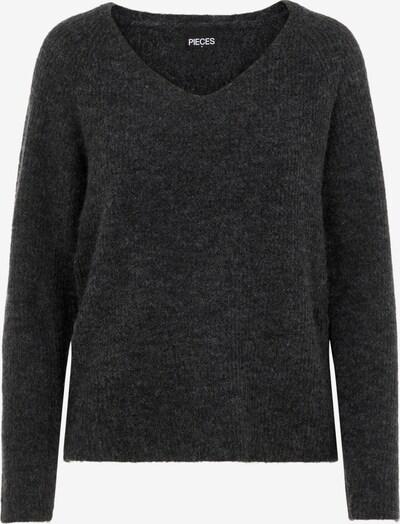 PIECES Pullover 'Ellen' in graumeliert, Produktansicht