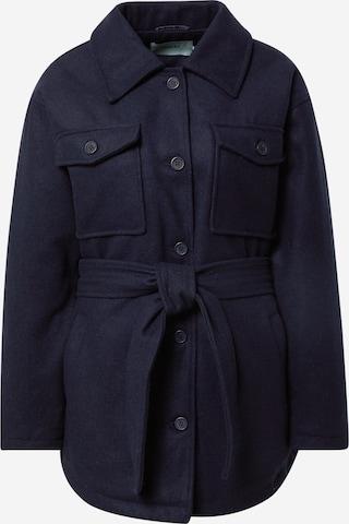Manteau mi-saison Moves en bleu