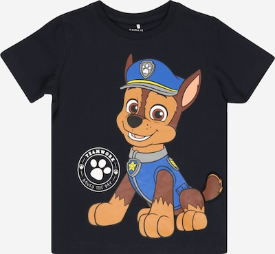 NAME IT Camiseta 'Pawpatrol Brais' en azul / zafiro / marrón / blanco, Vista del producto
