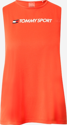 Tommy Sport Sporttop in de kleur Donkerblauw / Rood / Oranjerood / Wit, Productweergave