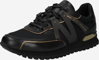 BOSS Casual Sneaker in gold / schwarz, Produktansicht