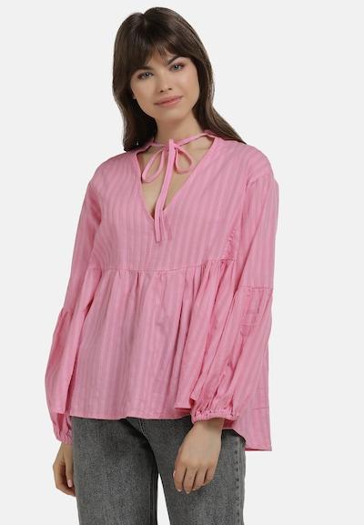 MYMO Bluse in pink / hellpink, Modelansicht