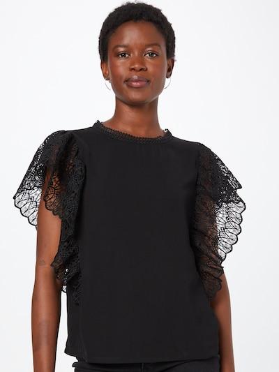 VERO MODA Bluse 'MAREN' in schwarz, Modelansicht