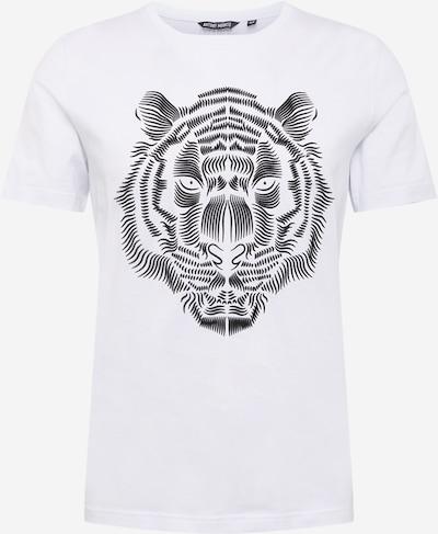 Tricou ANTONY MORATO pe negru / alb, Vizualizare produs