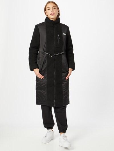 HI-TEC Outdoormantel 'SWALEDALE' in de kleur Zwart / Wit, Modelweergave