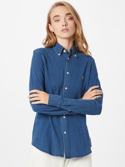 Polo Ralph Lauren Blusa 'HEIDI' en azul oscuro, Vista del modelo