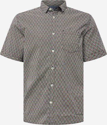 TOM TAILOR Button Up Shirt in Blue