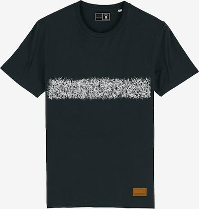 Bolzplatzkind T-Shirt in braun / schwarz / weiß, Produktansicht
