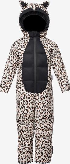 WeeDo Schneeanzug 'Cheetado Leopard' in braun / grau / schwarz, Produktansicht