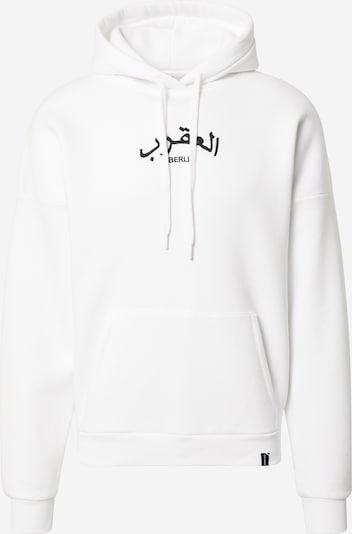 VIERVIER Hoodie 'Marlo' in weiß, Produktansicht