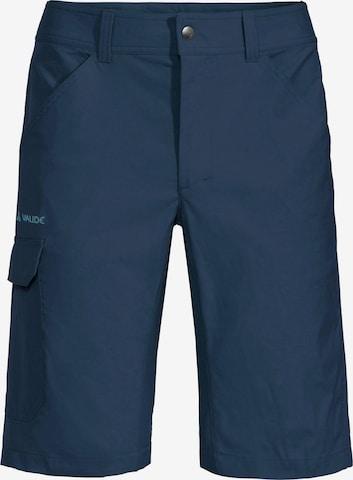 VAUDE Outdoor Pants 'Skarvan II' in Blue