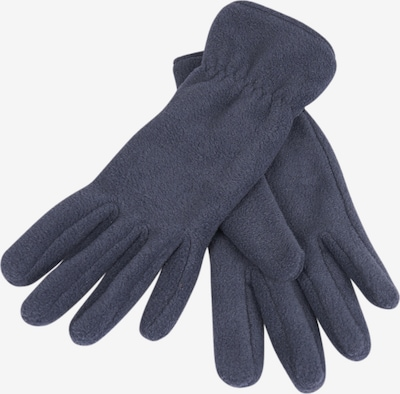 LOEVENICH Vingerhandschoenen ' PolarSoft ' in de kleur Blauw denim, Productweergave