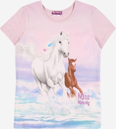 Miss Melody T-Shirt en mélange de couleurs / rose, Vue avec produit