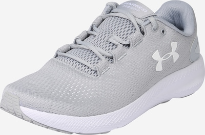 UNDER ARMOUR Chaussure de course 'Charged Pursuit 2' en gris / blanc, Vue avec produit