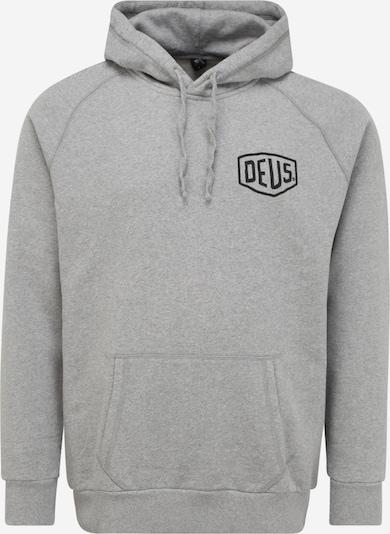 DEUS EX MACHINA Sweater majica 'Ibiza' u siva melange / crna, Pregled proizvoda