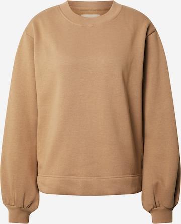 Sweat-shirt 'Augusta' Esmé Studios en beige