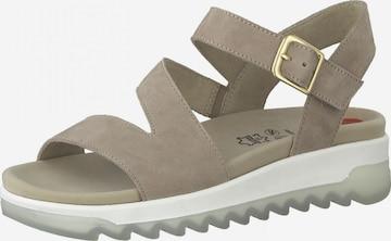 JANA Sandale in Grau