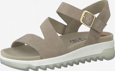 JANA Sandale in taupe, Produktansicht