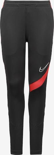 NIKE Trainingshose in rot / schwarz, Produktansicht