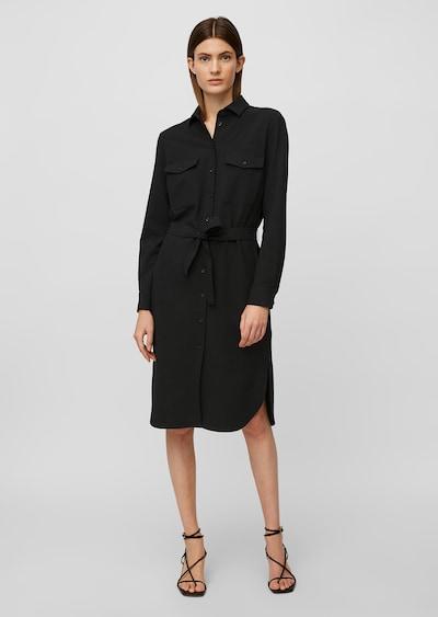 Marc O'Polo Pure Kleid in schwarz, Modelansicht