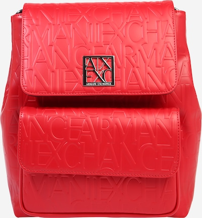 ARMANI EXCHANGE Rucksack in rot, Produktansicht