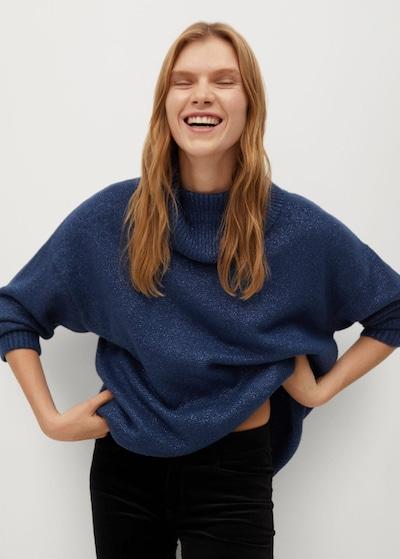 MANGO Pullover 'Polar' in blau, Modelansicht