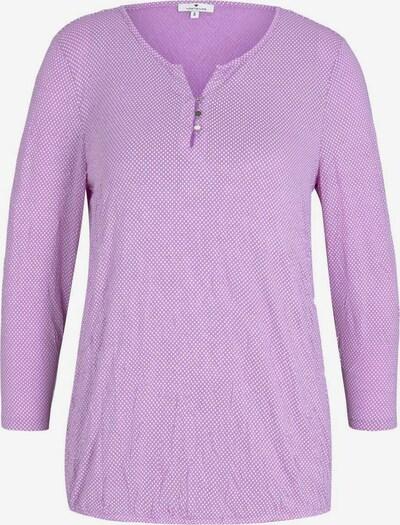 TOM TAILOR Shirt in lila, Produktansicht