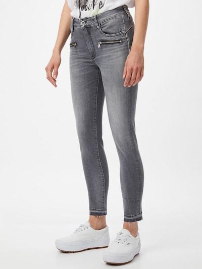 Le Temps Des Cerises Jeans 'DADO' in grey denim, Modelansicht