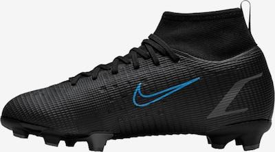 NIKE Fußballschuh in cyanblau / schwarz, Produktansicht