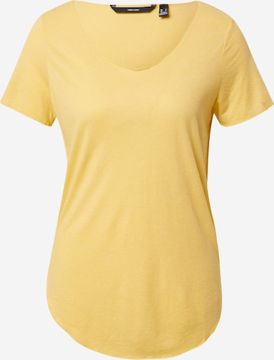VERO MODA T-shirt 'LUA' en jaune, Vue avec produit