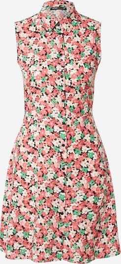 Rochie tip bluză DeFacto pe verde / roșu pastel / negru / alb, Vizualizare produs