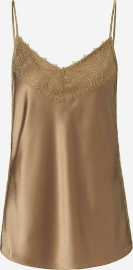 Peter Hahn Top aus Seide in bronze, Produktansicht