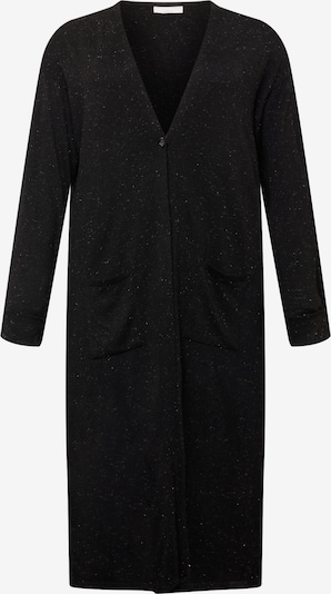 Guido Maria Kretschmer Curvy Collection Cardigan 'Laura' in schwarz, Produktansicht