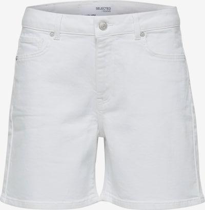SELECTED FEMME Shorts 'Silla' in white denim, Produktansicht