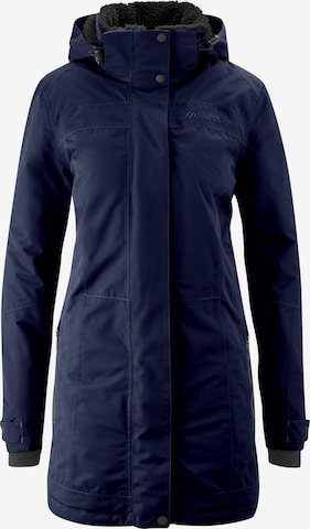 Maier Sports Outdoor Coat in Blue