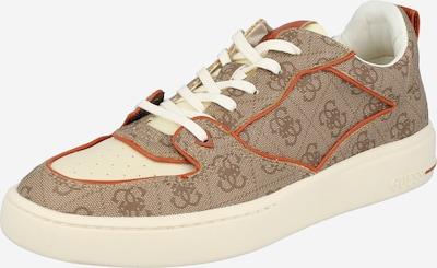 Sneaker bassa 'VERONA' GUESS di colore beige / beige scuro / arancione scuro, Visualizzazione prodotti