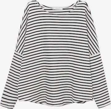 T-shirt 'Home' MANGO en blanc