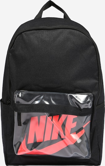 Nike Sportswear Tasche 'Heritage 2.0' in orangerot / schwarz, Produktansicht