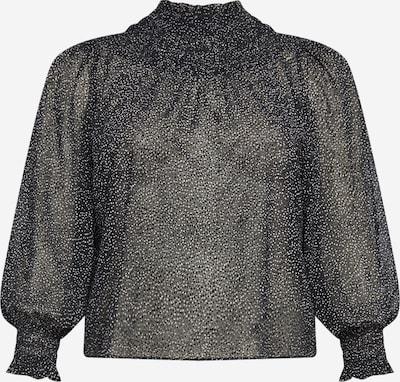 PIECES (Curve) Blouse 'MATHILA' in Black / White, Item view