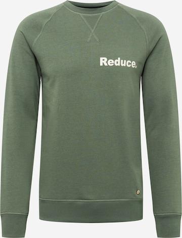 FAGUO Sweatshirt 'DARNEY' in Grün