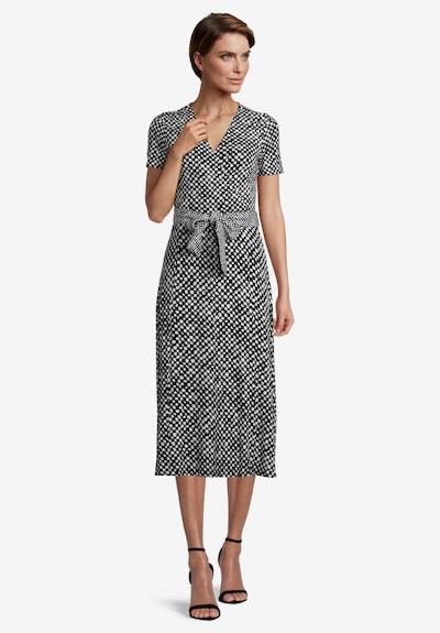 Betty Barclay Jerseykleid ohne Arm in schwarz / weiß, Modelansicht