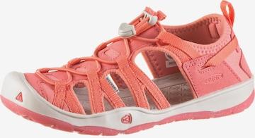 KEEN Outdoorsandale 'Moxie' in Pink