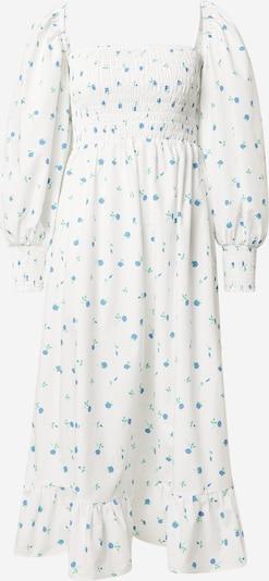 Crās Kleid 'Fiona' in blau / grün / weiß, Produktansicht